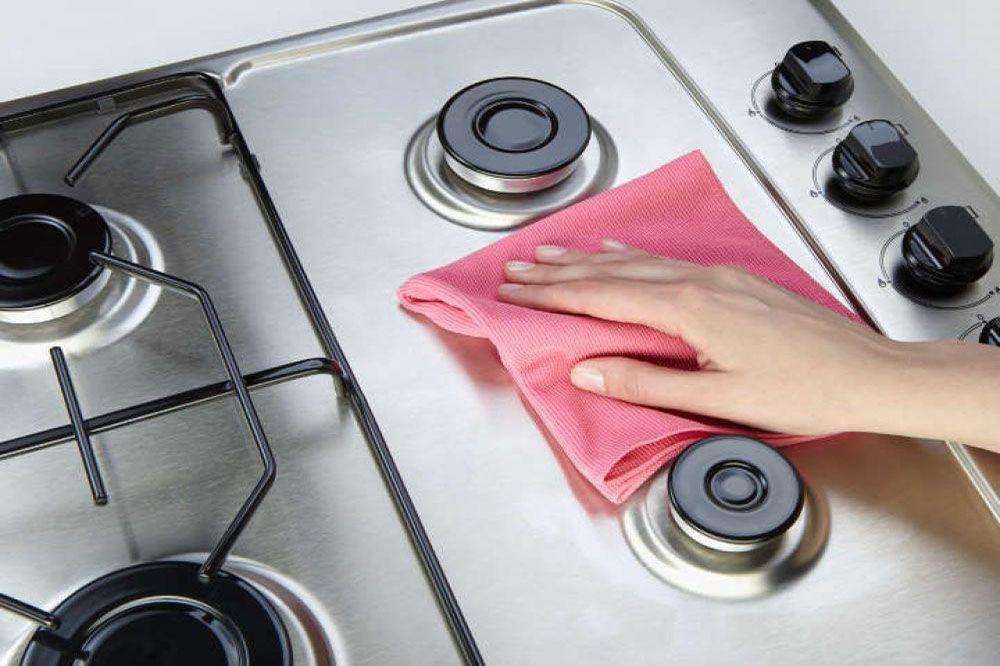 روش های تمیز کردن اجاق گاز